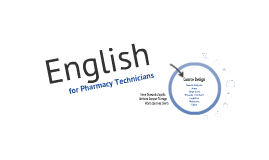 English for Pharmacy Technicians
