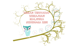 Copy of KESAN TERHADAP KEMAJUAN MALAYSIA SEHINGGA KINI