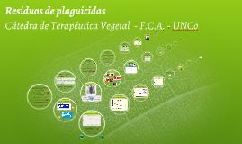 Clase Residuos FCA-UNCo 2014
