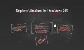 Keystone Literature Test Breakdown