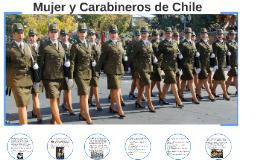 Mujer y Carabineros de Chile