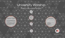 University Worship