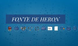 FONTE DE HERON