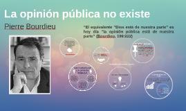 Copy of La opinión pública no existe