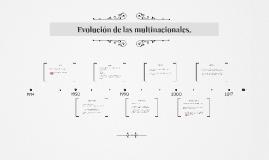 Evolución del mercadeo y el contexto de las multinacionales.