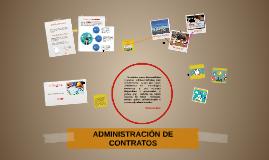 ADMINISTRACIÓN DE CONTRATOS