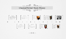 Copy of Classical Period-Music History