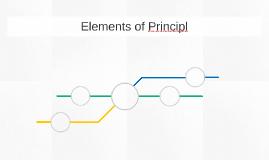Elements of Principl