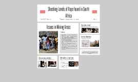 Shocking Levels of Rape found in South Africa