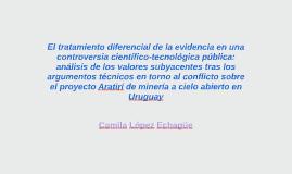 El tratamiento diferencial de la evidencia en una controvers