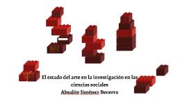 Copy of El estado del arte en la investigación en las ciencias socia