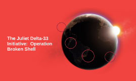 The Juliet Delta-33 Initiative:  Operation Broken Shell