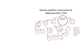 Copy of Marcha analítica: Separación de subgrupos IIIA y IIIB