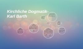 Kirchliche Dogmatik-Karl Barth