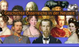 Copy of Geschichte Österreichs in der Neuzeit