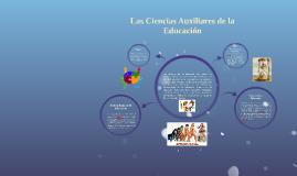 Ciencias Auxiliares de la Educación