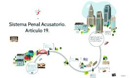 Sistema Penal Acusatorio.
