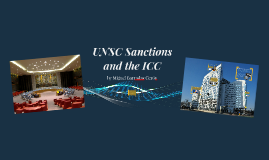 UNSC Sanctions and the ICC