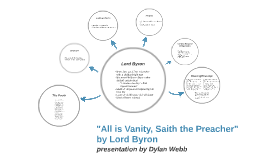 """All is Vanity, Saith the Preacher"" by Lord Byron"