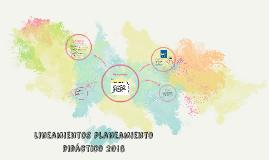 lineamientos planeamiento didáctico 2016
