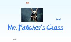 Mr. Fancher's Class