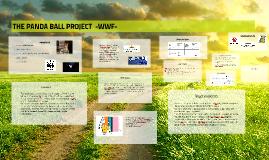 Copy of THE PANDA BALL PROJECT  -WWF-