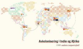 Avkolonisering i India og Afrika