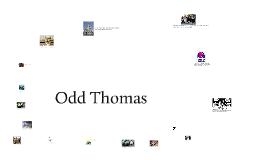 English III    Odd Thomas