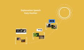 Explanation Speech