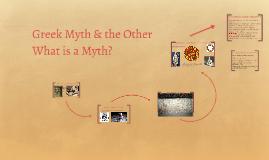Greek Myth & the Other