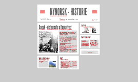 NYNORSK - HISTORIE