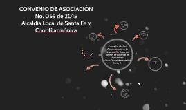 Convenio de Asociación No. 103 de 2014