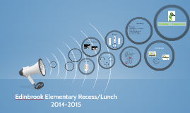 Edinbrook Recess/Lunch 2014-2015