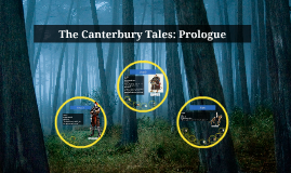 The Canterbury Tales: Prologue