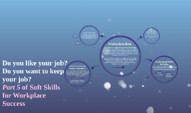 Pt. 5/ Professionalism: Soft Skills for the Workplace