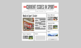 Current Issues in Sport