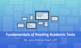 Fundamentals of Reading Academic Texts