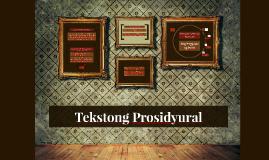 Copy of Tekstong Prosidyural