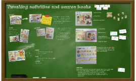 Tweaking books and activities for ESA