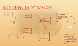 Sentència 50/2015