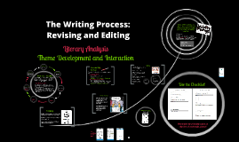 Revision Circle: Literary Analysis
