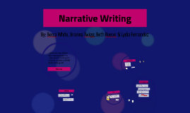 Copy of Narrative Writing