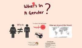 What's In A Gender?