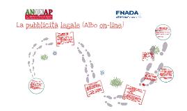 Pubblicità legale - Albo on-line