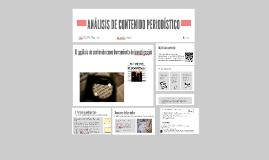 ANÁLISIS DE CONTENIDO PERIODÍSTICO