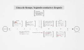Copy of Linea de tiempo, Segundo contacto y después