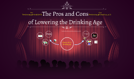 drinking age pros cons essay Read the pros and cons of the debate the minimum legal drinking age should be age 25.