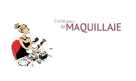 CURSO BÁSICO DE MAQUILLAJE - PRODUCTO COSMÉTICO