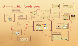 Accessible Archives