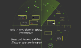 Unit 17 A2 - DAL - Part 1 (P3) Psychology of Sports Performance, Stress and Anxiety, and their Effects on Sport Performance